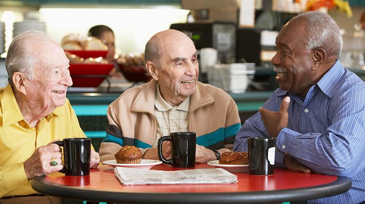 Cafétérias de centre pour personnes âgées